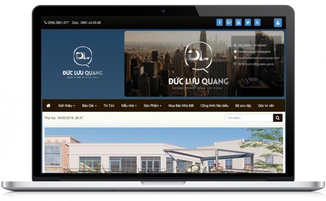 Thiết kế xây dựng Đức Lưu Quang