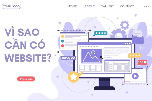 Vì sao cần có website? 10 Giá trị tuyệt vời mà website mang lại cho doanh nghiệp