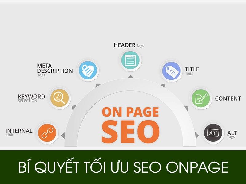SEO Onpage - Những việc cần làm để tối ưu SEO website